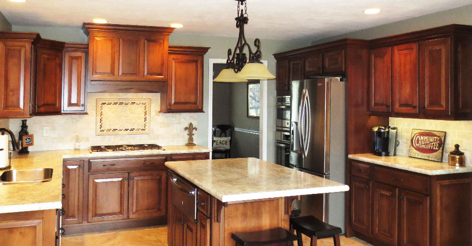 Cabinet Refacing 50 The Cost Of New Peoria Il Cherrytree Kitchens