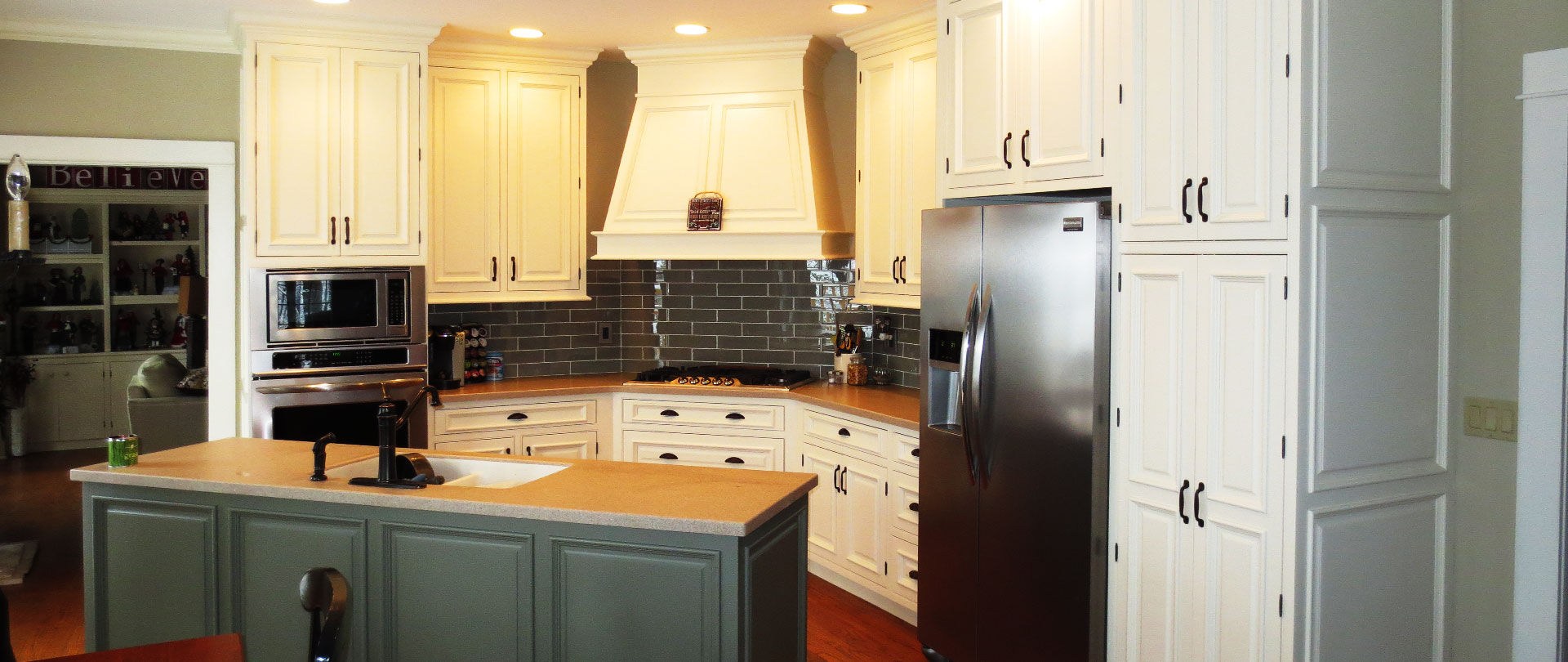Cabinet Refacing (50% the Cost of New!) Peoria, IL ...